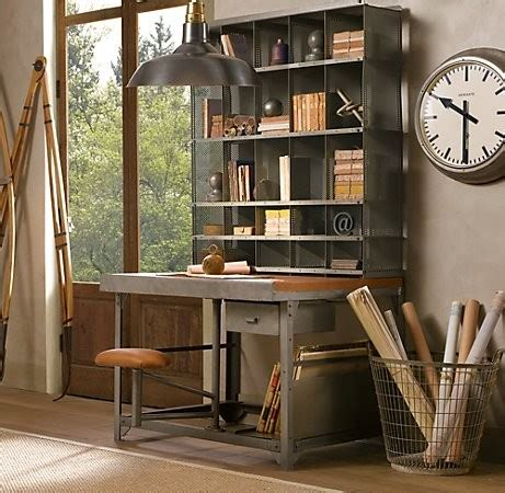vintage chic home decor 51 cool storage idea for a home office shelterness