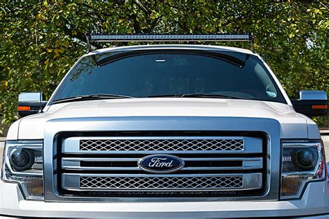 ford f150 led light bar ford f 150 04 2014 rooftop led light bar mounts
