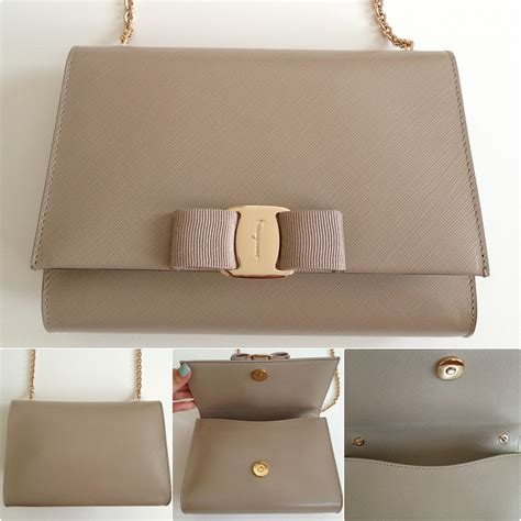 Salvatore Ferragamo Vara Woc Authentic review ferragamo miss vara bow mini bag vs chanel woc stylish