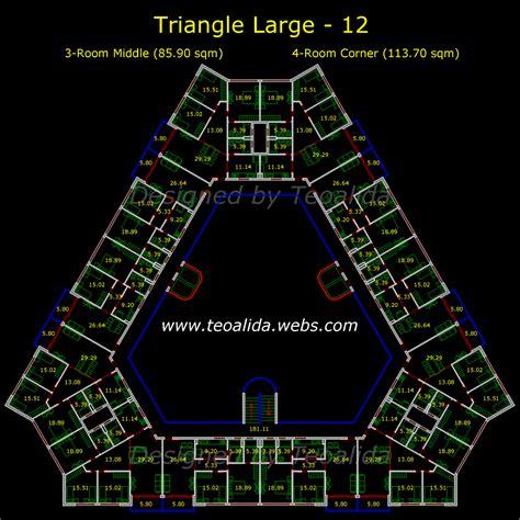 floor plan dwg prepossessing 60 apartment floor plans dwg inspiration