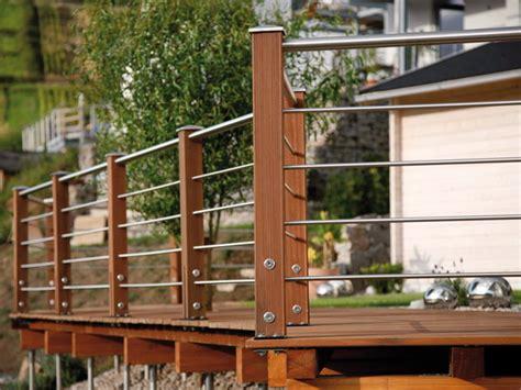 terrassengeländer edelstahl terrassengel 228 nder tubo inox zaun mesem de