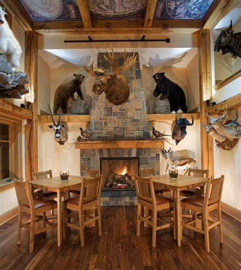 big trophy rooms trophy room rustic dining room other by