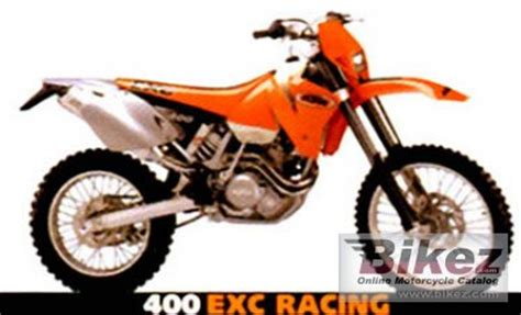 2001 Ktm 400 Exc Specs 2001 Ktm Exc 400 Specifications And Pictures