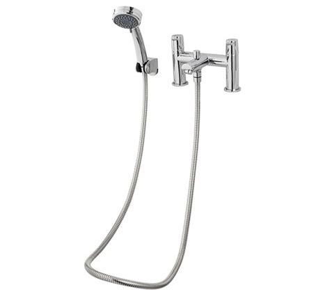 shower hose for bath taps triton dene bath shower mixer tap with handset and hose undebsm