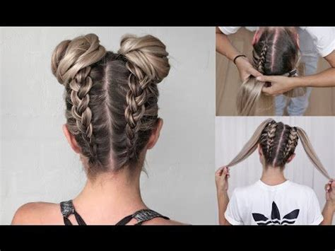 how to make hair buns from braids 25 best ideas about dutch braid tutorials on pinterest