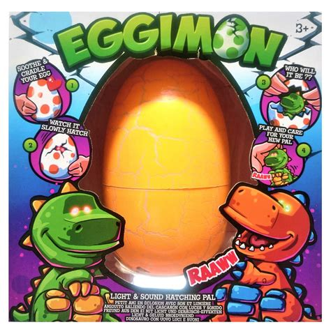 Egg Pal 1 By Tulipware eggimon light sound hatching pal egg green and or orange ebay