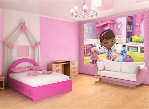 doc mcstuffins bedroom doc mcstuffins kids cartoon photo wall bedroom wall murals by homewallmurals