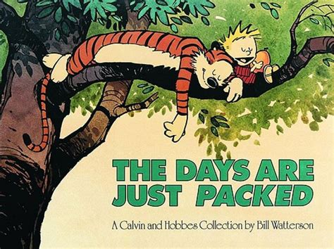 the days are just packed a calvin and hobbes collection days are just packed sc order calvin and hobbes