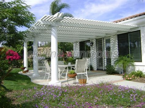 lattice patio covers lattice patio covers skyline sunrooms patio covers