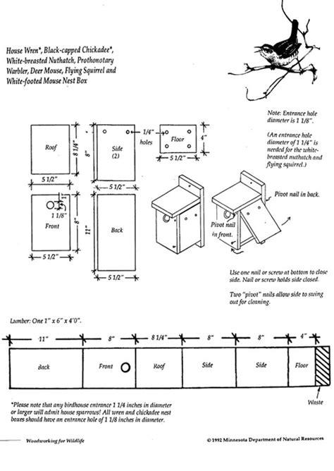 wren house design wren house plans nrcs iowa