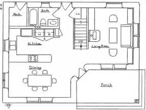 Small 2 Bedroom Floor Plans by 2 Bedroom House Simple Plan Small Two Bedroom House Floor
