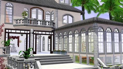 Luxury Homes Floor Plans mod the sims villa chouquarde luxurious house