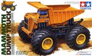 Tamiya 17013 Mini 4wd Mammoth Dump Truck 1 32 mammoth dump truck mini 4wd hobbysearch mini 4wd store