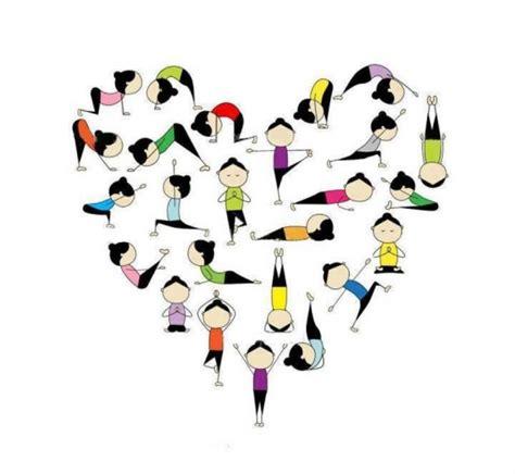 imagenes yoga animadas frases de yoga con im 225 genes que inspiran