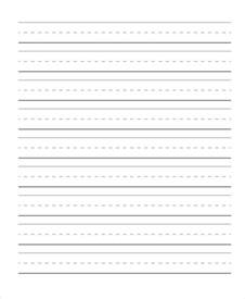 handwriting paper template 29 printable lined paper templates free premium templates