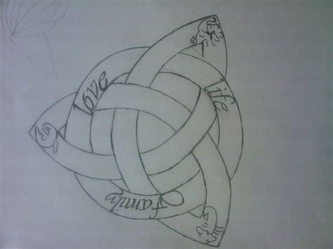 meaningful tattoos ideas celtic symbol  family