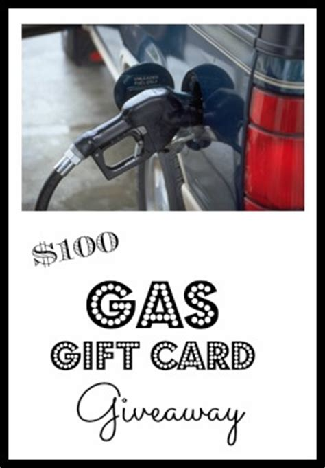 Gas Sweepstakes - 100 gas gift card giveaway debt free spending