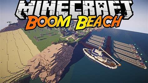 boom beach boat boom beach in minecraft island buildings minecraft