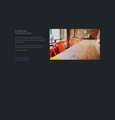 template foto foto stylish flat psd website template