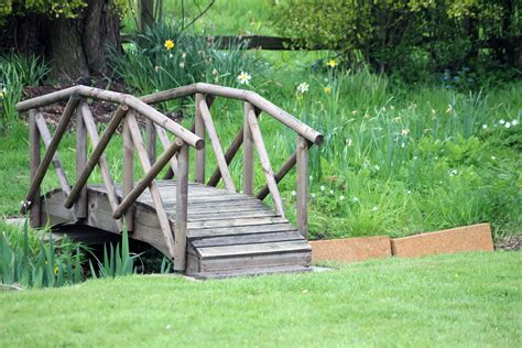 yard bridge small bridge over creek yard pinterest
