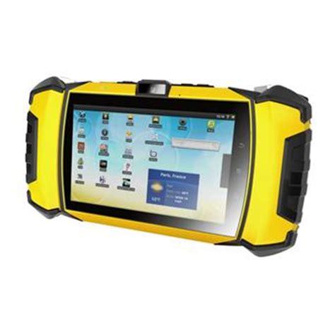 mtt mobile tout terrain mtt tablette mobile tout terrain ip67 jaune noir achat