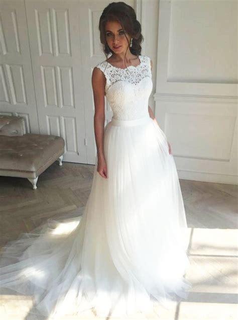 white wedding dressesball gown wedding dresstulle bridal