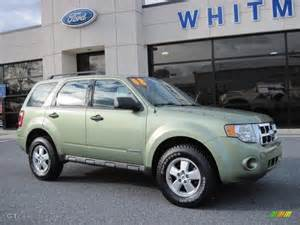 2008 kiwi green metallic ford escape xls 41423697