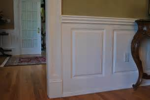 Faux Raised Panel Wainscoting - custom wainscoting dining room pictures great ideas