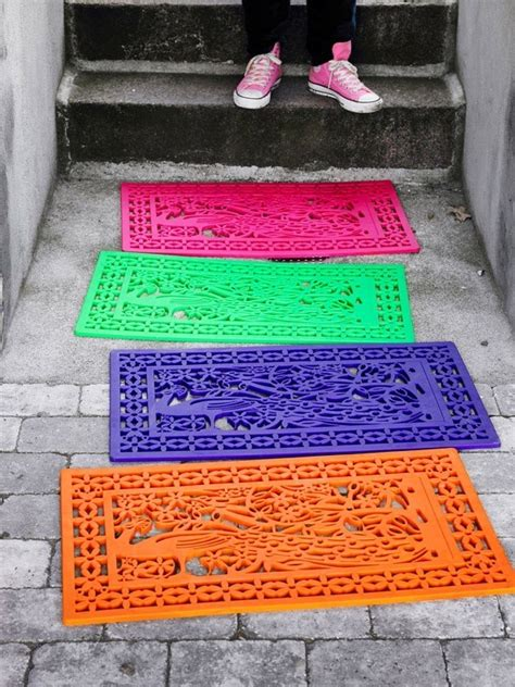 How To Buy Mat by 5 Creative Diy Project Rubber Door Mat Decor Cozy Bliss
