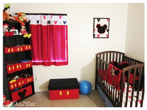 the290ss mickey mouse inspired room decoration