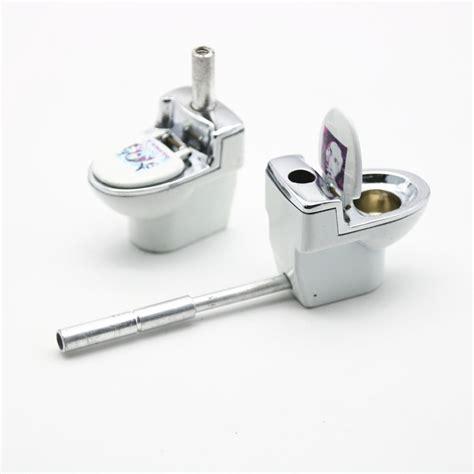 Portable Herb Garden by 1pc Creative Mini White Toilet Smoking Pipe Randomly Send
