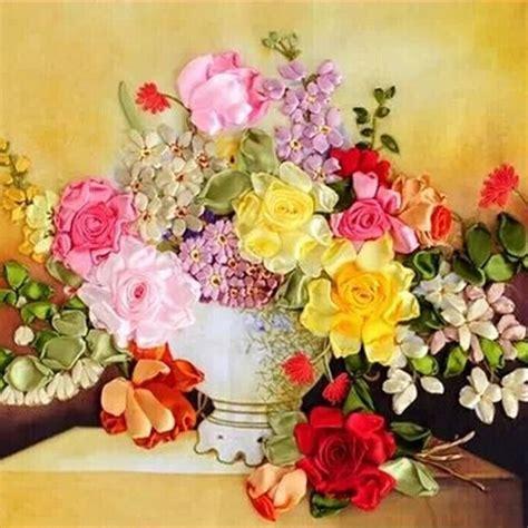 Pita Handmade Flower Peri Bunga buy grosir sulam pita from china sulam pita penjual