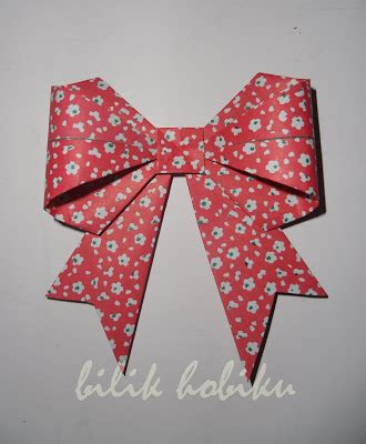 tutorial origami pita origami beautiful bow