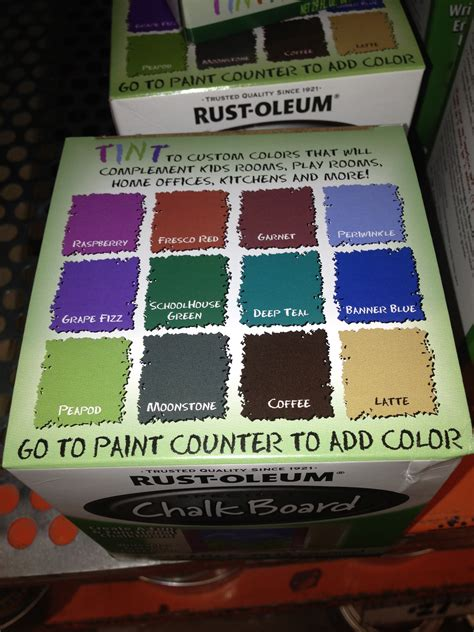 chalkboard paint colors at home depot chalkboard paint colors my style