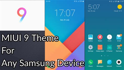 miui themes for android download download and install miui 9 theme for samsung devices