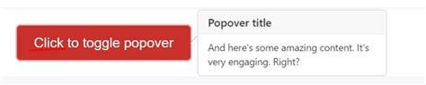 bootstrap popover custom template bootstrap popover template
