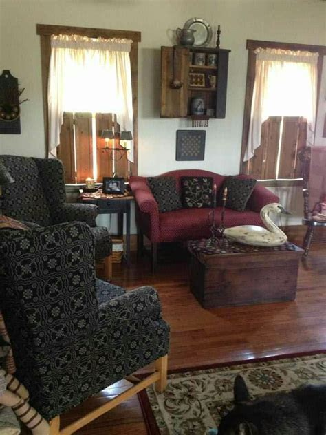 primitive living room furniture 100 best images about primitive living rooms on pinterest