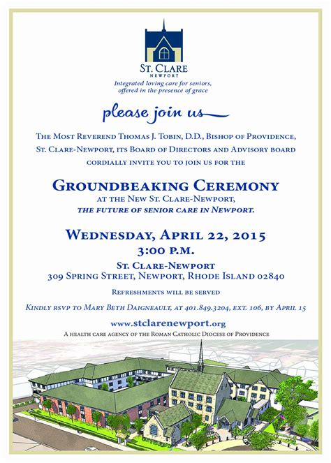 groundbreaking ceremony invitation templates 20 great groundbreaking ceremony invitation sle free