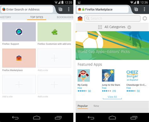 android browsers how to run firefox os apps in your android browser