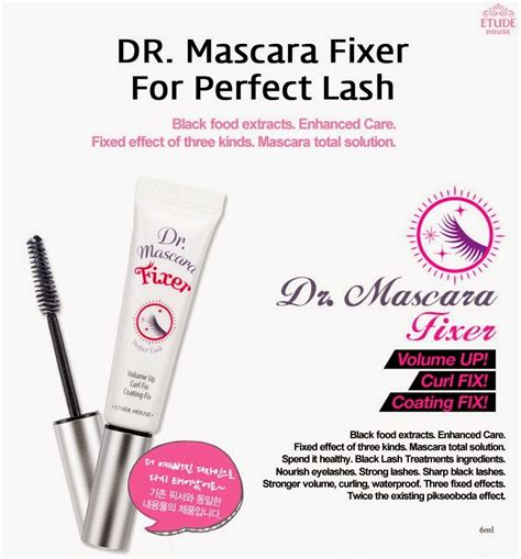 Etude House Dr Mascara Fixer For Lash 02