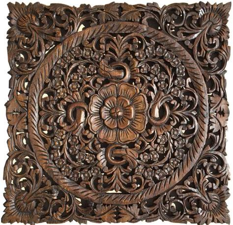 wood carved decorative wall plaque wood carved wall plaque floral wood wall panels