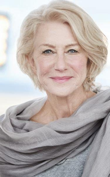 helen mirren hairstyles for l oreal exclusive first view of dame helen mirren s gold not old