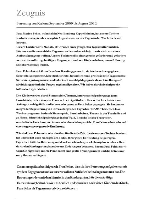 Schreiben Muster Mieterhöhung Tagesmutter Zeppelinheim