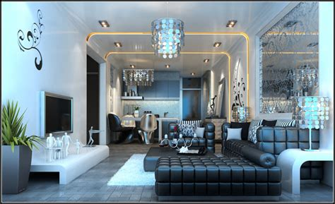 furnished living rooms modern living room fully furnished and decorated in colors 3d model max