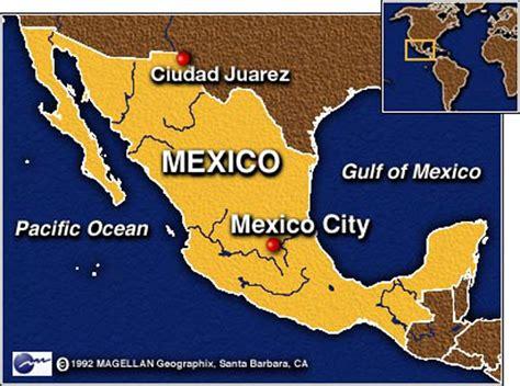 mapa de cd juarez chihuahua maps map juarez mexico