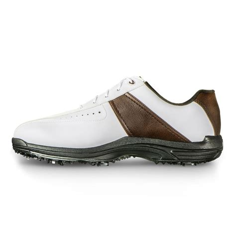 footjoy closeout greenjoys s golf shoes white brown