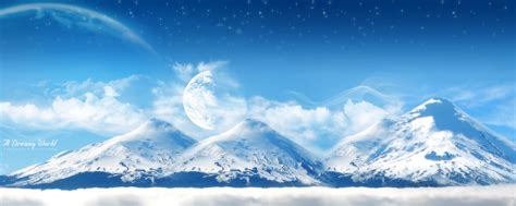 google mountain wallpaper ice white mountains google skins ice white mountains