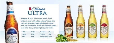 Calories In Michelob Ultra Light by Brand Family Michelob Ultra New Light Cider Gluten