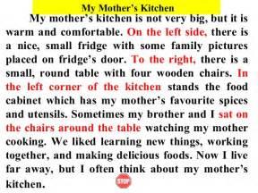 descriptive essay of a kitchen warfare roane