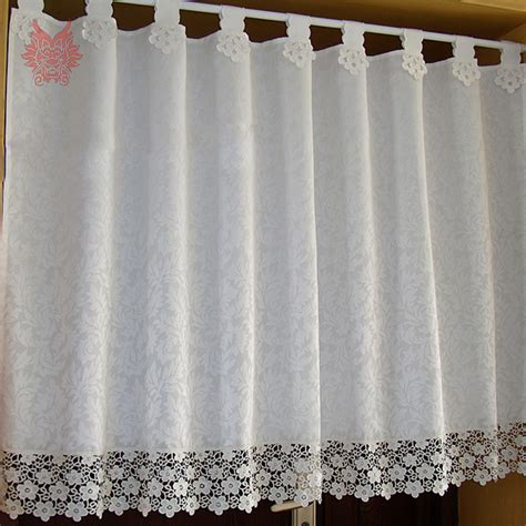 Kitchen Lace Curtains Get Cheap Lace Kitchen Curtains Aliexpress Alibaba
